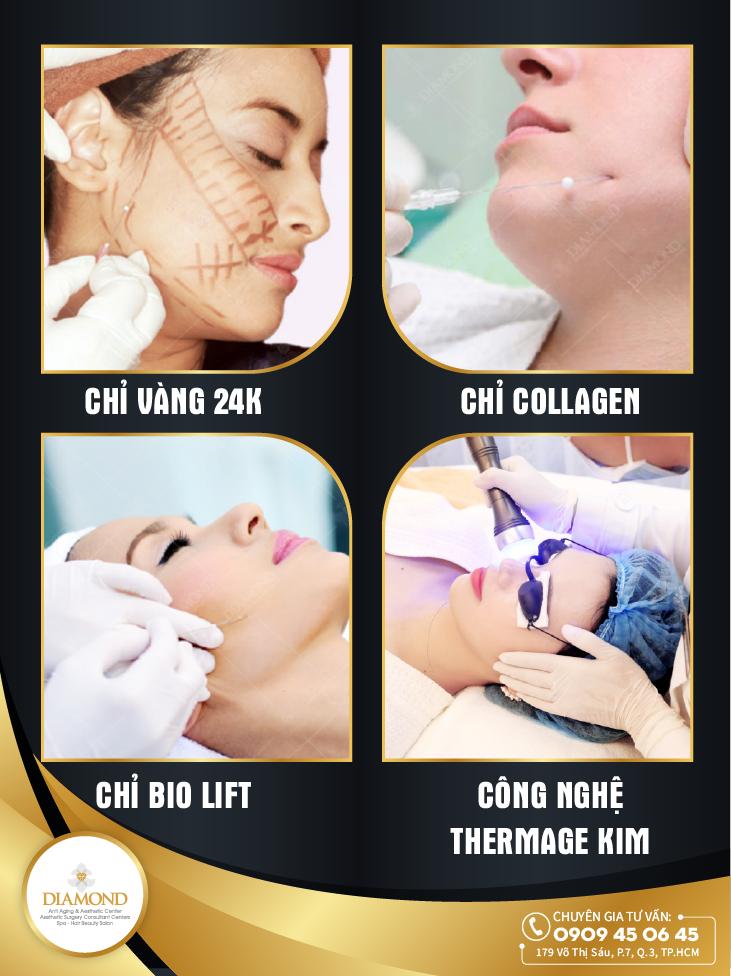 Các phương pháp căng da không phẫu thuật