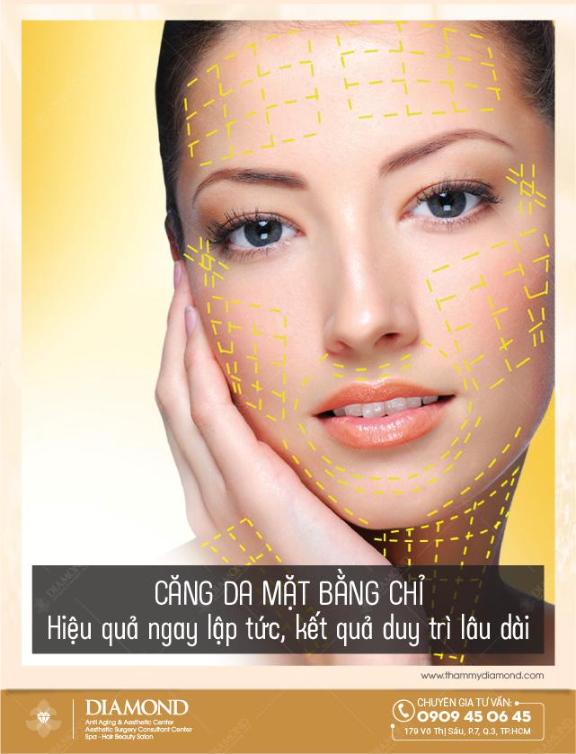 Căng da mặt bằng chỉ hiệu quả ngay lập tức, kết quá duy trì lâu dài