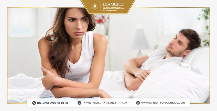 Khô âm đạo ở nữ giới làm giảm chất lượng đời sống vợ chồng